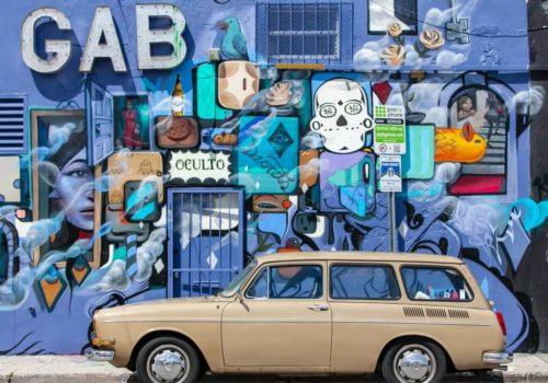 Flexible Réclame Graffiti